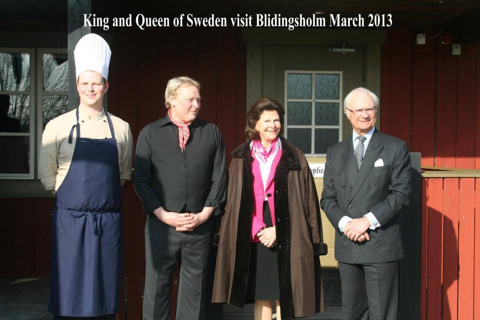 Kungen och Silvia besöker Blidingsholm